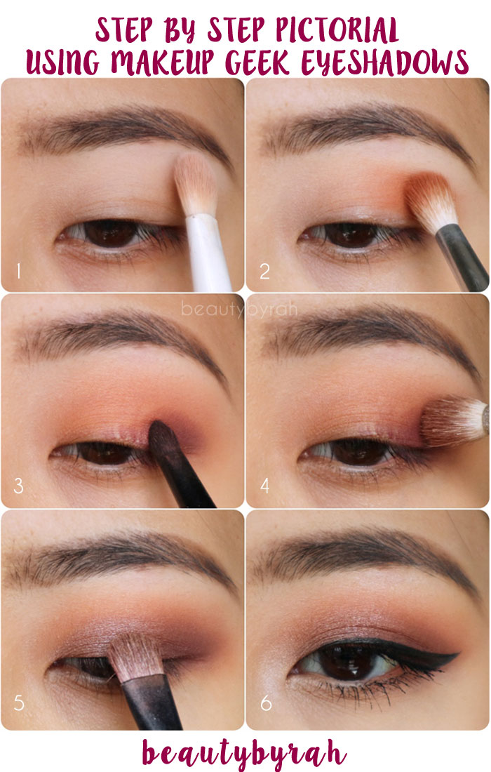 Step By Step Pictorial Using Makeup Geek