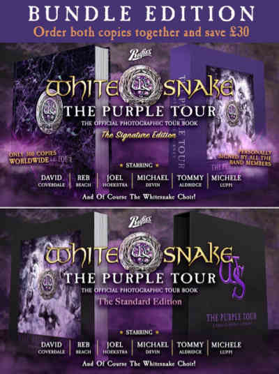 Whitesnake-The Purple Tour - A Photographic Journey