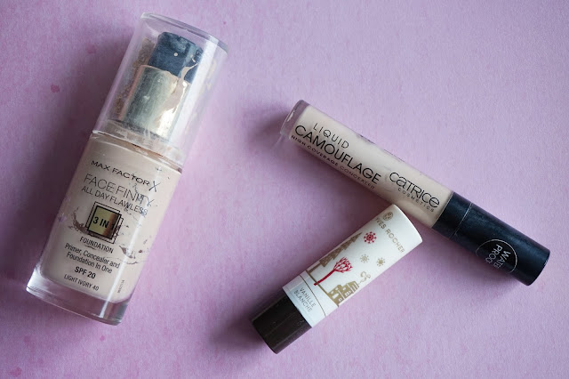 max factor face finity 3 in 1 foundation catrice liquid concealer yves rocher vanille lippenbalsem