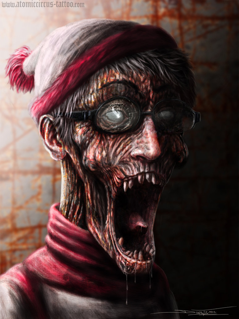 11-Where-s-Wally-Waldo-Zombie-Digital-Painting-Dino-Tomic-AtomiccircuS-Drawing-Painting-Tips-and-Digital-Art-www-designstack-co