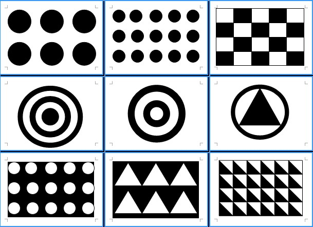 嬰兒黑白幾何圖形| - 綠蟲網 - BidWiperShare.com