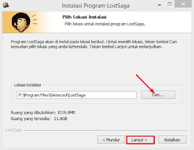 Cara Install Game Lost Saga Indonesia Terbaru 12