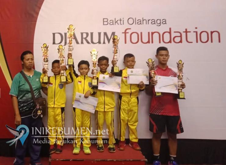 Fafa dan Faqih Terbaik di Pra Dini Kejuaraan Bulutangkis se-eks Karesidenan Kedu
