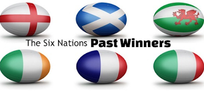 rugby, home, five, six, nations, championship, roll of honor, winning teams, champions, list.