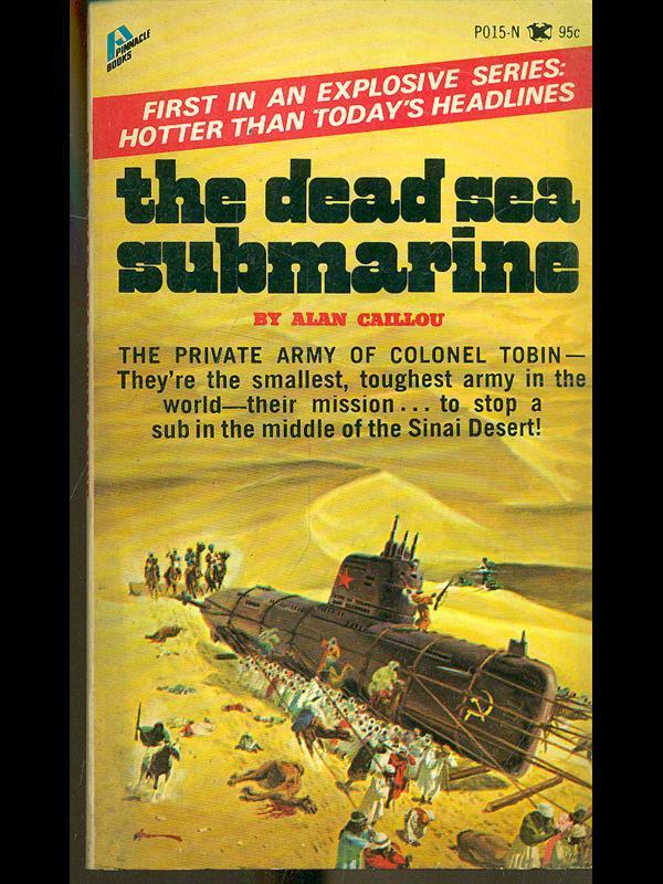 THE DEAD SEA SUBMARINE BY ALAN CAILLOU