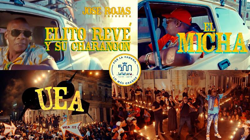 Elito Revé y su Charangón - El Micha - ¨UEA¨ - Videoclip - Dirección: Jose Rojas. Portal del Vídeo Clip Cubano