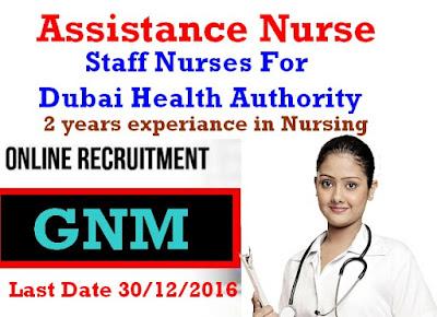 Job Details TitleAssistance Nurse CategoryNursing  DescriptionDiploma in nursing   Minimum 2 yeas experience in Nursing  APPLY THIS JOB