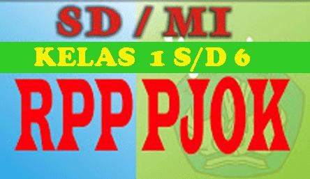 RPP PJOK SD/MI Kelas 1 s.d 6