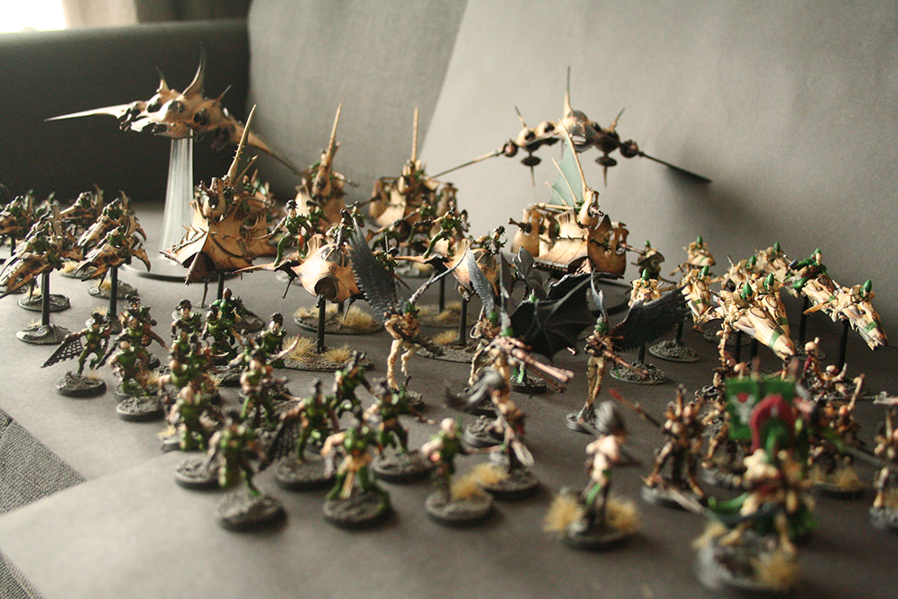 Sold large dark eldar army with eldar allies grim dark realms the list is as follows publicscrutiny Image collections