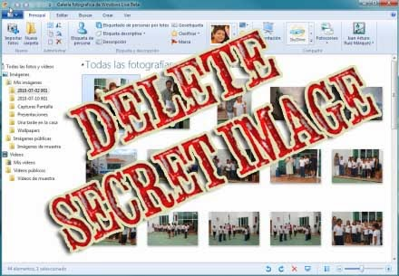 How To Delete Your Secret Image