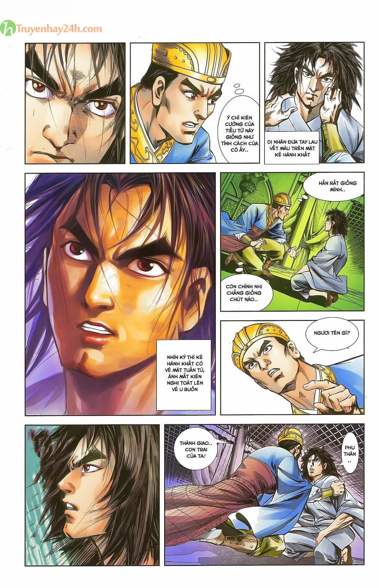 Tần Vương Doanh Chính chapter 29.2 trang 5