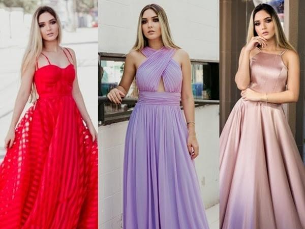 Vestido de festa longo: 10 vestidos perfeitos para madrinhas!