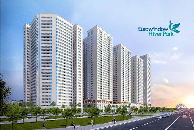Phối cảnh tổng thể dự án Eurowindow River Park