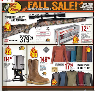 Bass Pro Shops Ontario Flyer October 20 - November 05, 2017