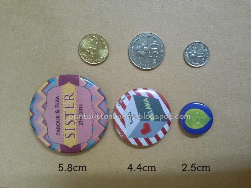 Wedding Button badge printing