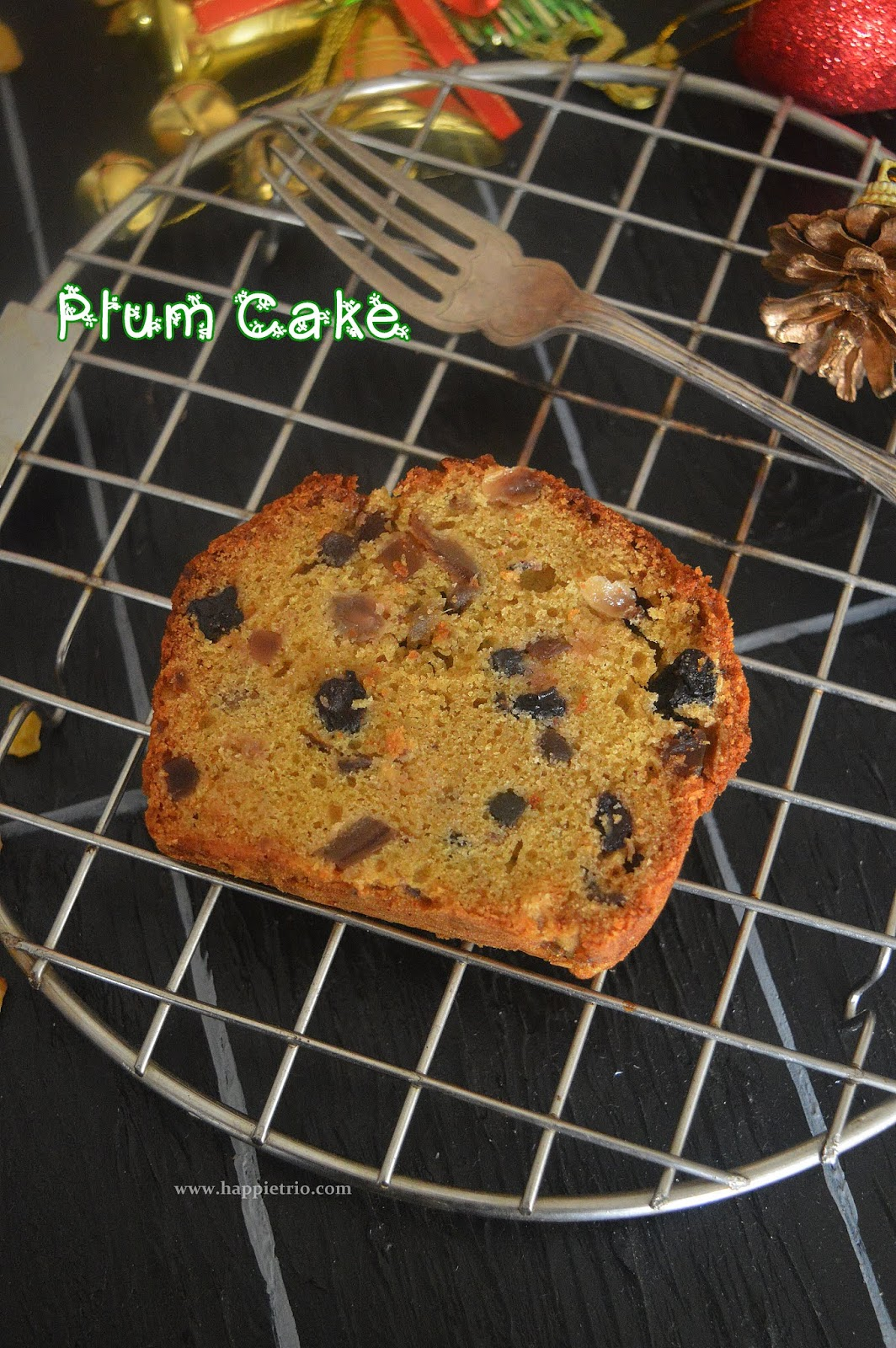 Xmas Cake | Christams Fruit cake | Christmas Plum cake
