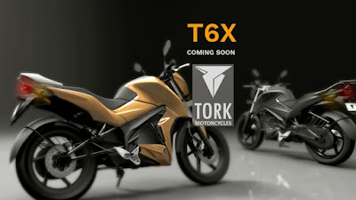 TORK T6X electric side angle image