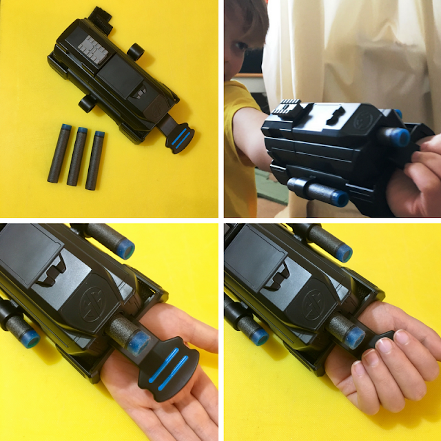 Toy Review: Spy Gear Transforming Ninja Sword & Wrist Blaster