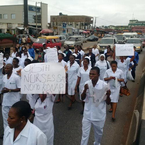 Kidnappers want 17m naira for the release of two UBTH nurses