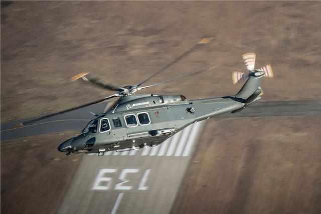 USAF sceglie Boeing MH-139 Leonardo