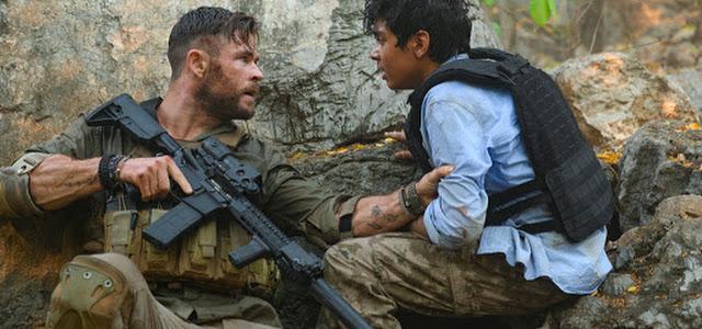 Chris Hemsworth é destaque em novas imagens de Extraction da Netflix