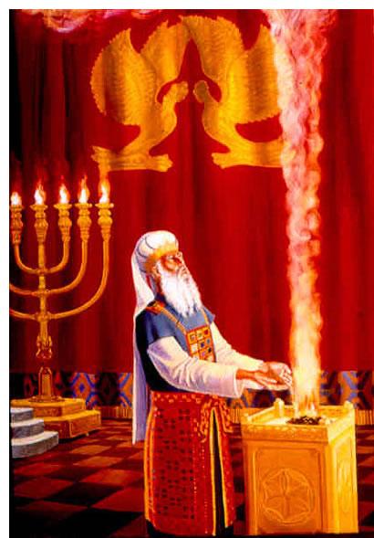 Moses Tabernacle Altar Incense