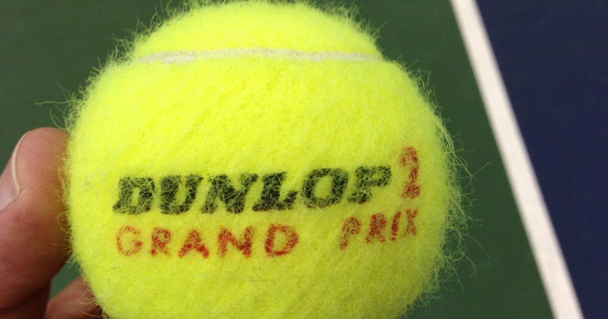 The Dolf Zone Dunlop Grand Prix / The Worst Tennis Ball Ever Made! - why is there fuzz on a tennis ball