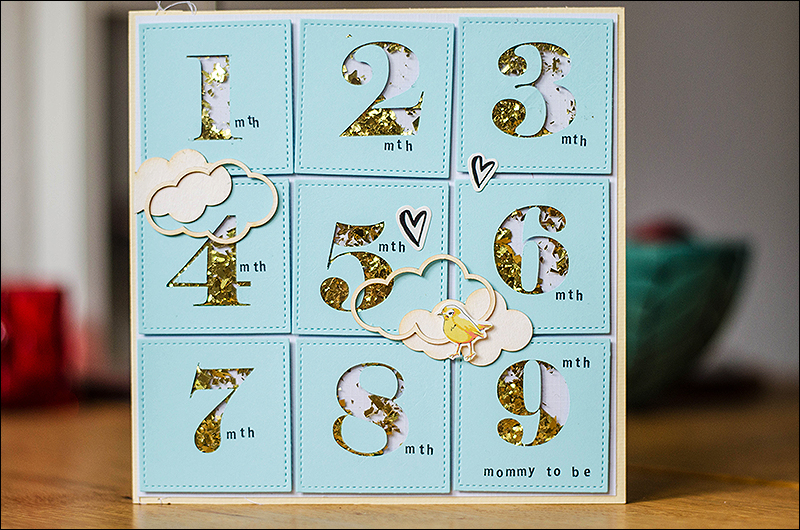 Stephanie Berger - Cardmaking - Baby Shower