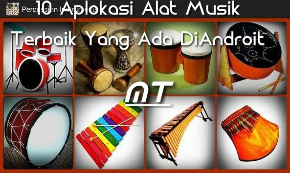10 alat musik aplikasi android