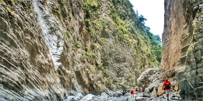 Samaria Canyon, Creta - Grecia