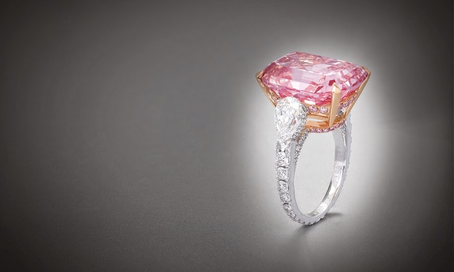 The Graff Pink Diamond Rare And Desirable Sense Of Luxury