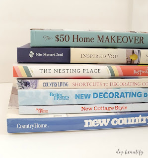 Get out of that decor rut! Here are my favorite decorating books that inspire me when I'm stuck! See them all at diy beautify!