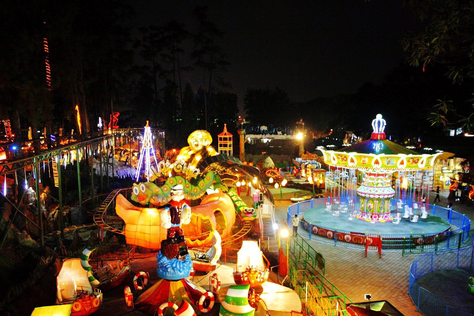 Wahana Tempat Bandung Carnival Land