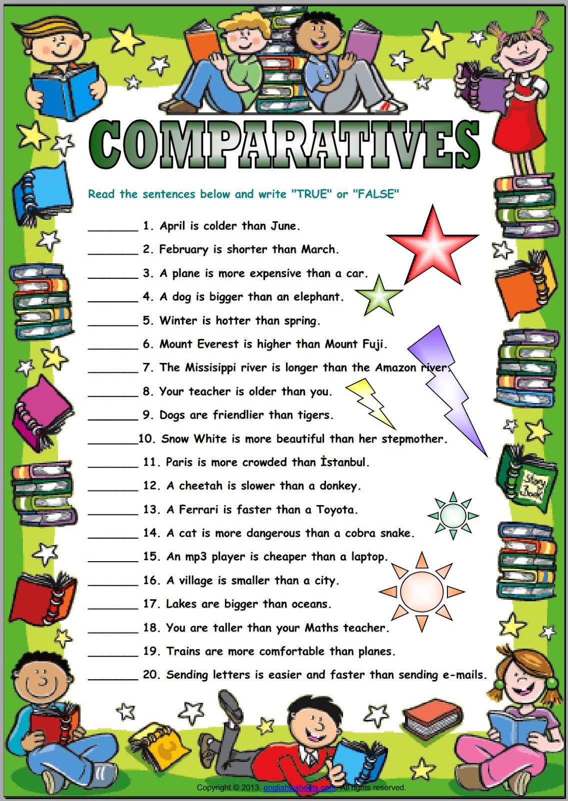 Home School Comparatives 2