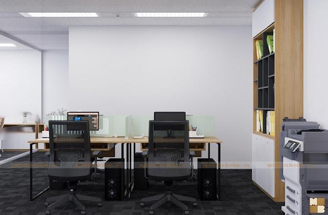 Lựa chọn những sản phẩm nội thất văn phòng thiết kế linh hoạt giúp nhân viên có thể làm việc một cách thoải mái và năng động nhất