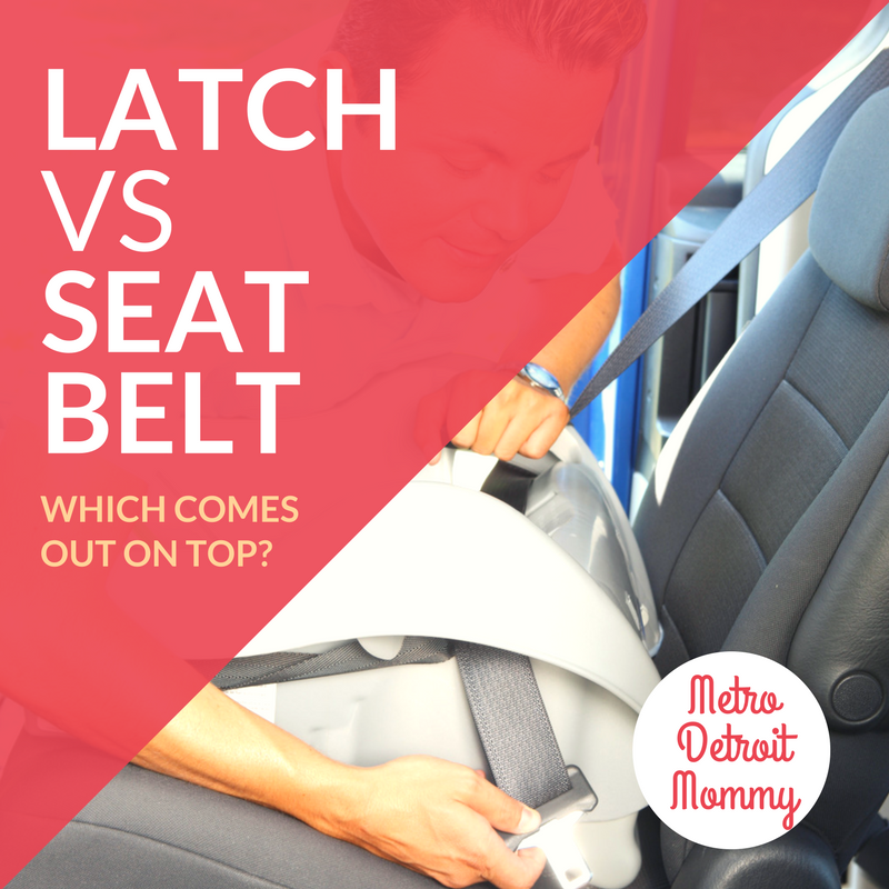 LATCH vs Seat Belt.., you can use either the vehicle seat belt or LATCH system, Which Comes Out On Top? ⋆ Metro ...