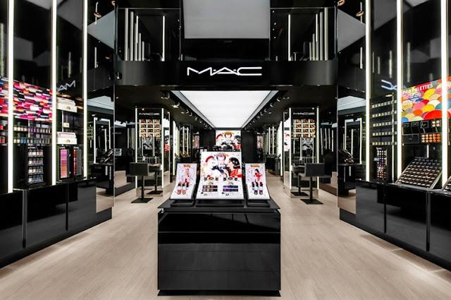 Loja MAC em Roma