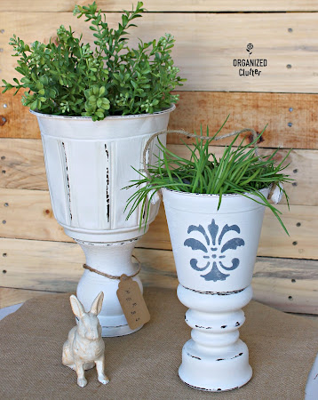 DIY Planter Urns
