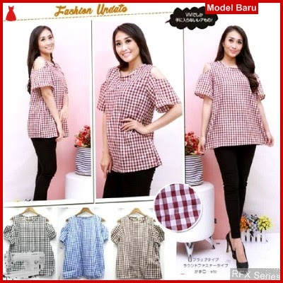 RFX150 MODEL KABITA BLOUSE MOTIF KOTAK FIT Big Size XL