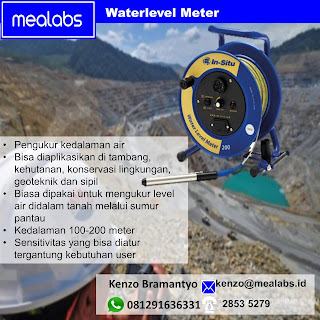 Water level Meter , Pengukur Kedalaman Air