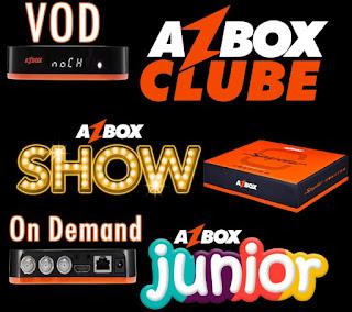 Azbox Spyder novos filmes VOD.