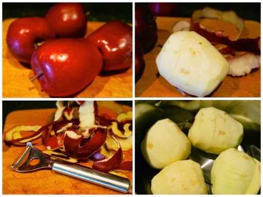 Fanny Cradock Poached Apples