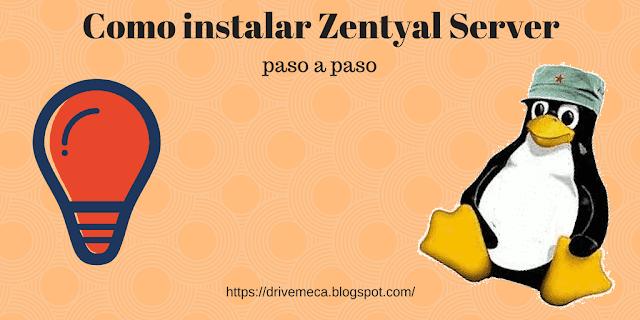 Como instalar Zentyal server paso a paso FÁCIL