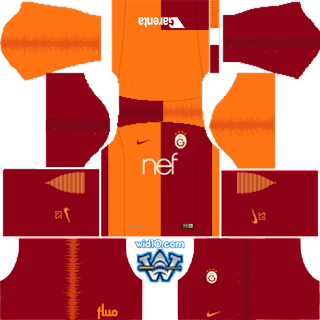 dream league seocer fts  galatasaray 2019 forma ve logo