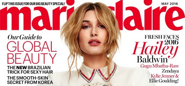 http://beauty-mags.blogspot.com/2016/04/hailey-baldwin-marie-claire-us-may-2016.html