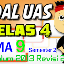 Download SOAL UAS KELAS 4 Semester 2 TEMA 9 K13 Revisi 2017