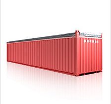40' open tab container, 40' OT container, container
