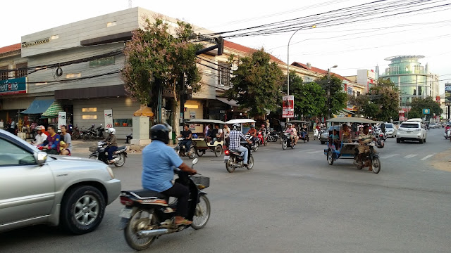 Calles de Siemp Reap