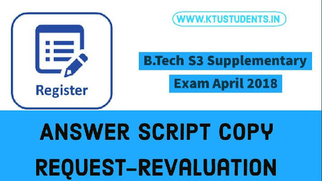 Ktu s3 supply revaluation registration