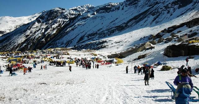 Shojha, Himachal Pradesh snowland